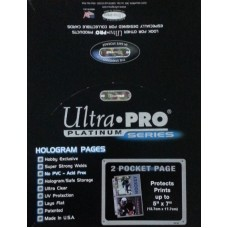 Ultra Pro 2 Pocket Pages - Box of 100