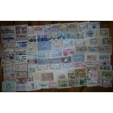 100 Different Austrian Notgeld