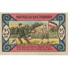 Suchsdorf Gemeinde, 4x25pf, 4x50pf, Set of 8 Notes, 1291.1a