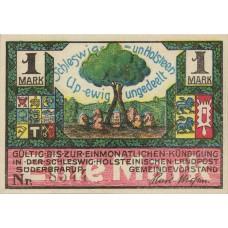 Süderbrarup Gemeinde, 1x1mk, Set of 1 Note, 1294.4a