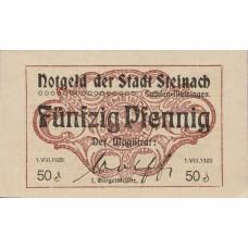 Steinach Stadt, 1x50pf, Set of 1 Note, S106.3