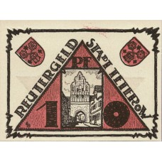 Teterow Stadt, 1x10pf, 1x25pf, 1x50pf, Set of 3 Notes, 1316.1