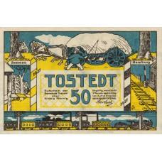 Tostedt Gemeinde, 1x50pf, Set of 1 Note, 1332.1