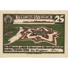 Vechta Stadt, 2x25pf, 2x50pf, 2x75pf, Set of 6 Notes, 1358.1