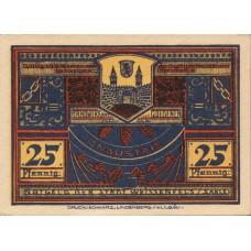 Weissenfels Stadt, 1x25pf, Set of 1 Note, 1403.1b