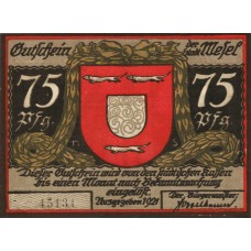 Wesel Stadt, 3x50pf, Set of 3 Notes, 1409.2a