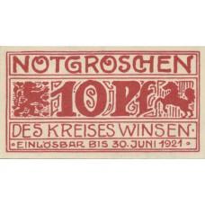 Winsen a.d. Luhe Kreis, 10 Pfennig, 1434.1a