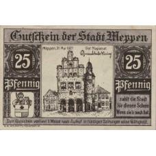 Meppen Stadt, 25 Pfennig, 883.2