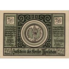 Monschau Kreis, 3x50pf, Set of 3 Notes, 896.1