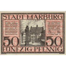 Marburg Stadt, 1x50pf, Set of 1 Note, M7.3