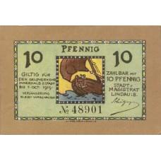 Lindau i.B. Stadt, 10 Pfennig, L46.1a