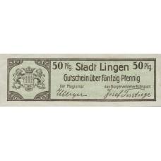 Lingen Stadt, 50 Pfennig, L48.3c