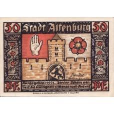 Altenburg Stadt, 8x50pf, Set of 8 Notes, 21.1a