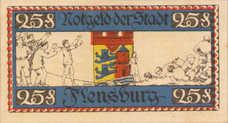 Flensburg Stadt, 25 Pfennig, 369.5a