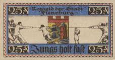 Flensburg Stadt, 25 Pfennig, 369.3a
