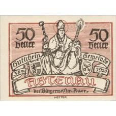 Abtenau Sbg Gemeinde, 1x10h, 1x20h, 1x50h, Set of 3 Notes, FS 3a