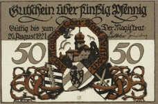 Delitzsch Stadt, 6x50pf, Set of 6 Notes, 262.2