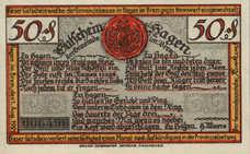 Hagen Gemeinde, 50 Pfennig, 499.1a