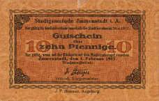 Immenstadt i. Allgäu Stadt, 10 Pfennig, I4.1a