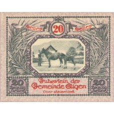 Aigen Stm. Gemeinde, 1x10h, 1x20h, 1x50h, Set of 3 Notes, FS 14g