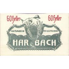 Harbach Kärnten Gemeinde, 100 Printed, 60 Heller, FS 348IaB