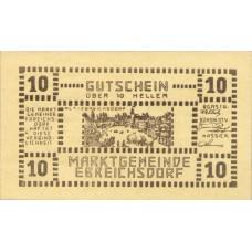 Ebreichsdorf N.Ö. Marktgemeinde, 1x10h, 1x20h, 1x50h, Set of 3 Notes, FS 147