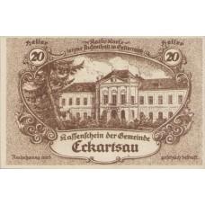 Eckartsau N.Ö. Gemeinde, 1x20h, 1x30h, 1x50h, 1x80h, Set of 4 Notes, FS 149a