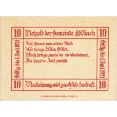 Edlbach O.Ö. Gemeinde, 1x10h, 1x20h, 1x50h, Set of 3 Notes, FS 150a