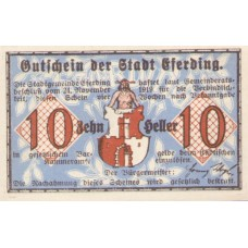 Eferding O.Ö. Stadtgemeinde, 4x10h, 4x20h, Set of 8 Notes, FS 152IIIa