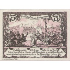 Eferding O.Ö. Stadtgemeinde, 1x50h, 1x75h, Set of 2 Notes, FS 152IV