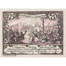 Eferding O.Ö. Stadtgemeinde, 1x50h, 1x75h, Set of 2 Notes, FS 152IV