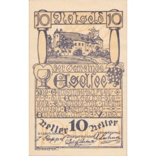 Egelsee N.Ö. Dorfgemeinde, 1x10h, 1x20h, 1x50h, Set of 3 Notes, FS 158c