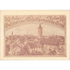 Enns O.Ö. Stadtgemeinde, 1x10h, 1x20h, 1x50h, Set of 3 Notes, FS 174IIa
