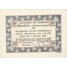 Fuschl Am See Sbg. Gemeinde, 50 Heller, FS 215b