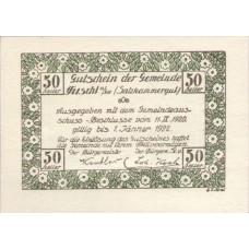 Fuschl Am See Sbg. Gemeinde, 50 Heller, FS 215c