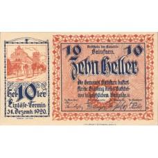 Gainfarn N.Ö. Gemeinde, 1x10h, 2x20h, 1x50h, Set of 3 Notes, FS 217a