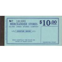 Spitsbergen Island Creek Stores Company, $5, $10, $25, Set of 3 Booklets