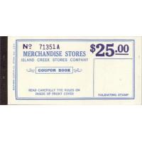 Spitsbergen Island Creek Stores Company, $25, Booklet