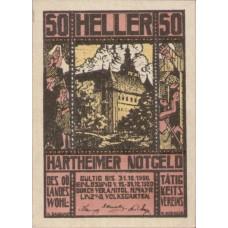 Hartheim O.Ö. Prv. Landes-Wohltätigkeitsverein, 1x20h, 1x50h, 1x80h, Set of 3 Notes, FS 352a