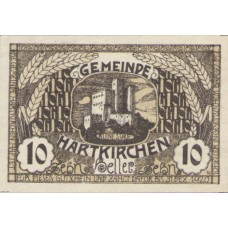 Hartkirchen O.Ö. Gemeinde, 1x10h, 1x20h, 1x50h, Set of 3 Notes, FS 353Ia