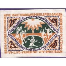 Bielefeld Stadt, 25 Mark, Silk, 042a