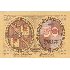Kirchdorf an der Krems O.Ö. Marktgemeinde, 1x20h, 1x50h, 1x80h, Set of 3 Notes, FS 445IIa
