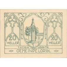 Lorch O.Ö. Gemeinde, 1x20h, 1x30h, 1x50h, Set of 3 Notes, FS 564a