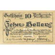 Mauthausen O.Ö. Marktgemeinde, 1x10h, 1x20h, 1x50h, Set of 3 Notes, FS 601Ia
