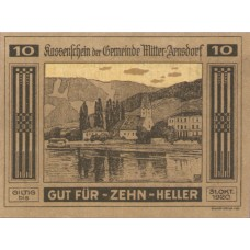 Mitter - Arnsdorf N.Ö. Gemeinde, 1x10h, 1x20h, 1x50h, Set of 3 Notes, FS 617a