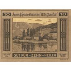 Mitter - Arnsdorf N.Ö. Gemeinde, 1x10h, 1x20h, 1x50h, Set of 3 Notes, FS 617a
