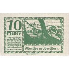Mondsee O.Ö. Marktgemeinde, 1x10h, 1x20h, 1x50h, Set of 3 Notes, FS 626c1