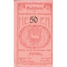 Neulengbach N.Ö. Marktgemeinde, 1x10h, 1x20h, 1x50h, 2x100h, Set of 3 Notes, FS 659a