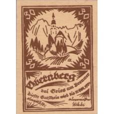 Obernberg bei Gries am Brenner Tirol, 2x30h, 2x50h, 3x70h, 2x90h, Set of 9 Notes, FS 685Ia