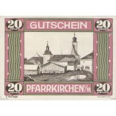 Pfarrkirchen im Mühlkreis O.Ö. Gemeinde, 1x20h, 1x50h, 1x80h, Set of 3 Notes, FS 744IIe